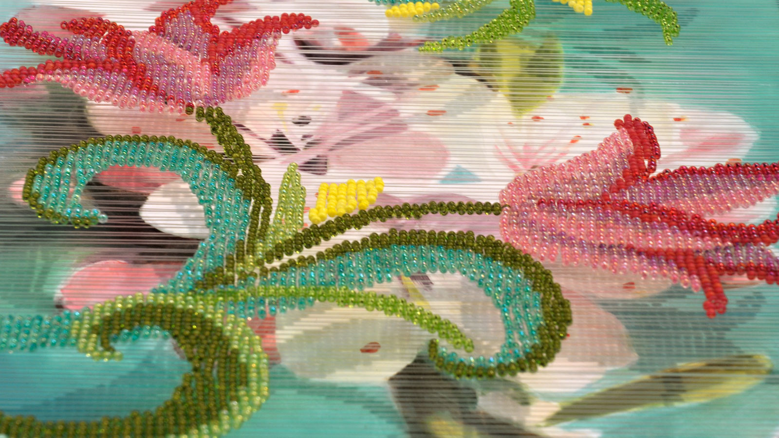 gewebte Perlenbilder, Lea Lenhart