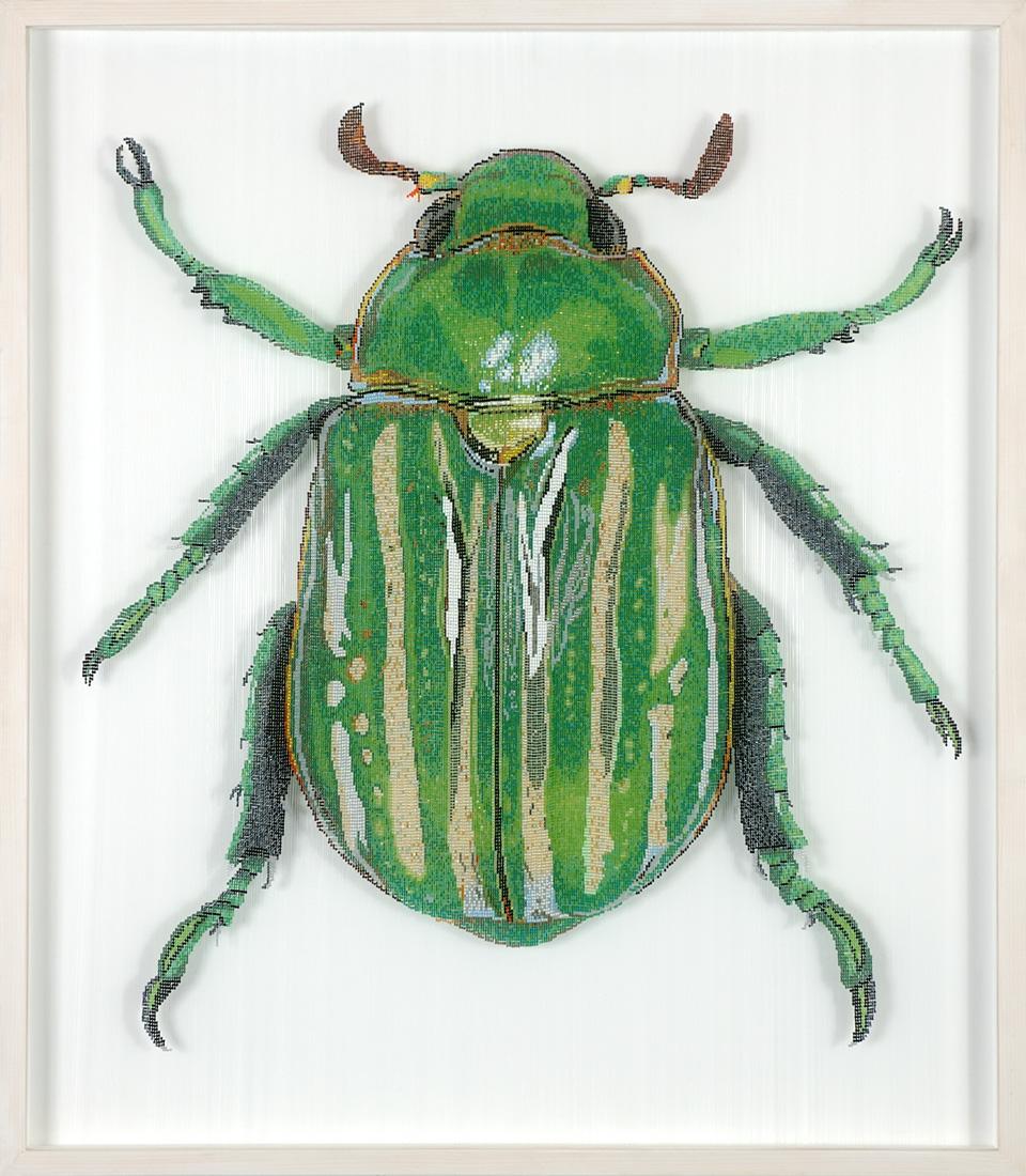 Glasperlen Käfer
